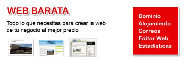 tu web barata por 150€